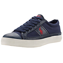 Buy Polo Ralph Lauren Churston Trainers, Newport Navy Online at johnlewis.com