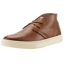 Buy Polo Ralph Lauren Joplin Leather Shoes, Tan Online at johnlewis.com