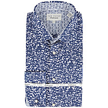 Buy Ted Baker Flosho Leaf Print Shirt Online at johnlewis.com