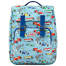 Buy Cath Kidston Children's Racing Cars Backpack, Blue Online at johnlewis.com