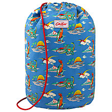 Buy Cath Kidston Children's Dino Drawstring Bag, Blue Online at johnlewis.com
