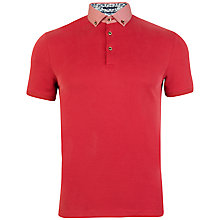 Buy Ted Baker Teknow Woven Collar Polo Shirt Online at johnlewis.com