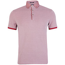 Buy Ted Baker Fowmo Woven Collar Polo Shirt Online at johnlewis.com