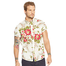 Buy Denim & Supply Ralph Lauren Classic Madras Floral Short Sleeve Shirt Online at johnlewis.com