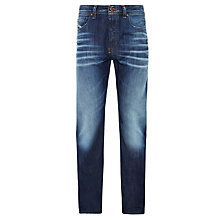 Buy Diesel Larkee Relaxed Comfort Straight Jeans, Mid Wash Online at johnlewis.com