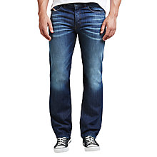Buy Diesel Larkee Relaxed Comfort Straight Jeans, 833N Mid Wash Online at johnlewis.com