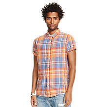 Buy Denim & Supply Ralph Lauren Classic Madras Check Short Sleeve Shirt, Maya Plaid Online at johnlewis.com