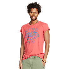 Buy Denim & Supply Ralph Lauren Eagle Graphic T-Shirt, Nantucket Red Online at johnlewis.com