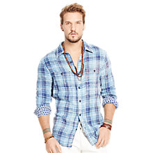 Buy Denim & Supply Ralph Lauren Ward Check Shirt Online at johnlewis.com