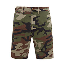 Buy Denim & Supply Ralph Lauren Camoeflage Chino Shorts, Military Camo Online at johnlewis.com