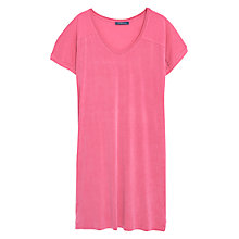 Buy Violeta by Mango Shift Dress, Bright Pink Online at johnlewis.com