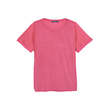 Buy Violeta by Mango T-shirt, Bright Pink Online at johnlewis.com
