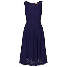Buy Jolie Moi Lace Pleat 50s Prom Dress Online at johnlewis.com