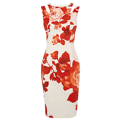 Karen Millen Beautiful Oversize Dress, Red