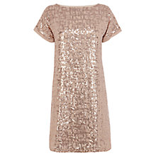 Buy Coast Uriah Sequin Dress, Bronze Online at johnlewis.com