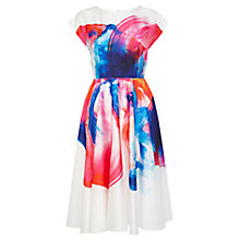 Buy Coast Hyper Bloom Print Dress, Multi Online at johnlewis.com