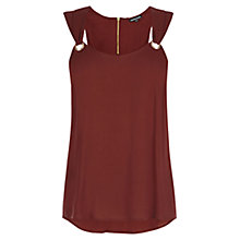 Buy Warehouse Eyelet Detail Vest Online at johnlewis.com