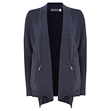 Buy Mint Velvet Layered Cardigan, Indigo Online at johnlewis.com