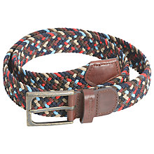 Buy Barbour Ford Woven Belt, Multi Online at johnlewis.com