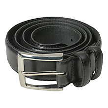 Buy Barbour Leather Belt Gift Box, Brown Online at johnlewis.com