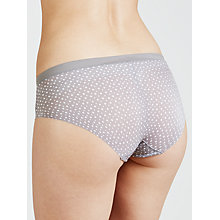 Buy DKNY Fusion Hipster Briefs, Fun Dot Socialite Grey Online at johnlewis.com