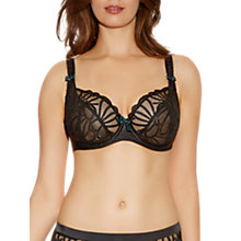 Buy Freya Starlet Plunge Balcony Bra, Black Online at johnlewis.com