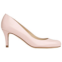 Buy L.K. Bennett Samira Patent Leather Court Shoes, Pink Online at johnlewis.com