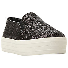 Buy Steve Madden Bubah Flatform Slip On Trainers Online at johnlewis.com