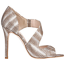 Buy L.K. Bennett Laura Cut Away Asymmetric Sandals Online at johnlewis.com