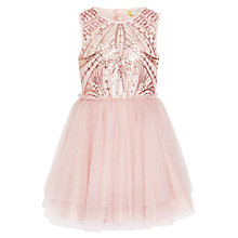 Buy John Lewis Heirloom Collection Girls' Sequin Bodice Dress Online at johnlewis.com