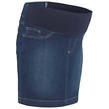 Buy Séraphine Betsy Stretch Denim Maternity Skirt, Denim Blue Online at johnlewis.com