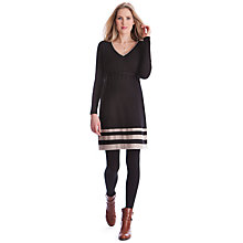 Buy Séraphine Dixie Maternity Dress, Black Online at johnlewis.com