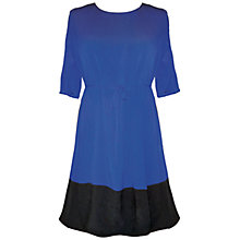 Buy Séraphine Livvy Colour Block Maternity Dress, Blue/Black Online at johnlewis.com