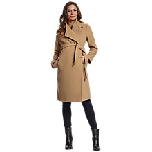 Buy Séraphine Donatella Maternity Coat, Camel Online at johnlewis.com