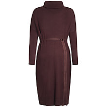 Buy Séraphine Roberta Roll Neck Maternity Dress, Chocolate Online at johnlewis.com