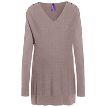 Buy Séraphine Tallulah Maternity Nursing Jumper, Chestnut Online at johnlewis.com