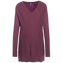 Buy Séraphine Tallulah Maternity Nursing Jumper, Grape Online at johnlewis.com