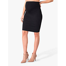 Buy Séraphine Cathy Bodycon Maternity Pencil Skirt, Black Online at johnlewis.com