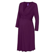 Buy Séraphine Jolene V-Neck Maternity Dress, Orchid Online at johnlewis.com
