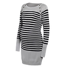 Buy Séraphine Rozalia Stripe Dress, Grey/Navy Online at johnlewis.com