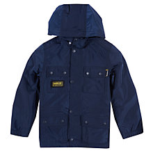 Buy Barbour International Nyloc Jacket, Navy Online at johnlewis.com