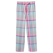 Buy Joules Fleur Check Pyjama Pants, Multi Online at johnlewis.com