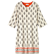 Buy Toast Paisley Border Nightdress, Ivory Online at johnlewis.com