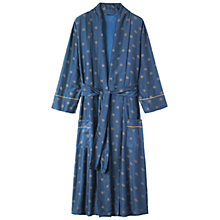 Buy Toast Star Print Gown, Navy/Gold Online at johnlewis.com
