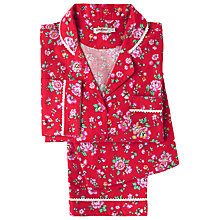 Buy Cath Kidston Bramley Sprig Pyjama Set, Red Online at johnlewis.com