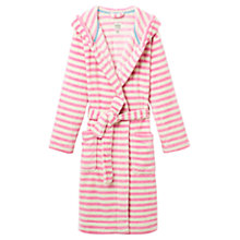 Buy Joules Rita Stripe Robe, Pink Online at johnlewis.com