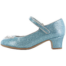 Buy Disney Frozen Elsa & Anna Glitter Shoes, Blue Online at johnlewis.com