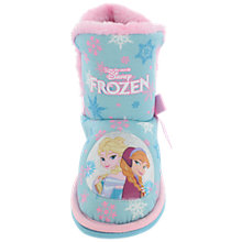 Buy Disney Frozen Elsa & Anna Slipper Boots, Ice Blue Online at johnlewis.com