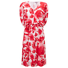 Buy Phase Eight Valencia Dress, Red/White Online at johnlewis.com