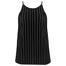 Buy Miss Selfridge Pinstripe Cami, Multi Online at johnlewis.com